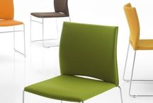 Side to Side / Side Seating, Stack Chairs, Guest Seating, Open office, Private Office, Poly, Upholstered
