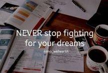 MOTIVASJON / Motivation to study and work hard!  (Motivasjon=Motivation)