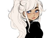 Draws / For help you learn how to draw ♡