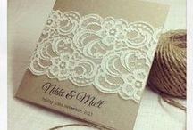 Wedding-Invites ect. / by Laurel Plumer
