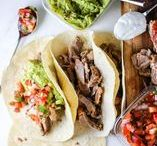 Mexican Fiesta / Whether you're hosting a Cinco de Mayo party or just want a little Mexican for dinner, turn your kitchen into cantina with this south-of-the-border fare!