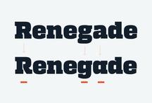 graphic design | fonts / by Tommy Bæk Søgaard