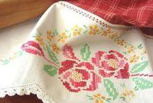Cross Stitch / crossstitch, çarpıişi, diy, etamin, çocuk odası için süs, elişi pano