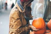 MOOD // AUTUMN / Fall, Pumpkins, Apples, Halloween, Leaves and Trees. Everything beautiful.