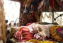 bednook / cozy little spaces.  dorm inspiration. / by Lindsey Twigg