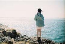 MOOD // OCEAN / Life is always calm by the sea.