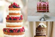 Let Them Eat Cake! / Beautiful cakes and other delight treats for your wedding!