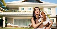 Casas dos famosos / Você dentro da casa das celebridades! revistaquem.globo.com/Lifestyle