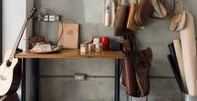 Leather Workshops / The places where leather craftsmen create their master pieces.