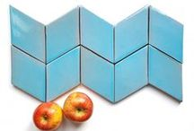 Diamond Cube Tiles / In this board you can find amazing geometric tiles. They are DIAMOND CUBE COLLECTION, they are great to make different compositions.
