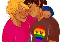Solangelo / My favorite couple ever ! ♥