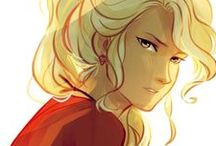 Annabeth Chase / For who assume : dyslexia = stupid
