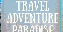 Travel Adventure Paradise / Look for your next Travel Destinations here by other travelers!   Lots of wonderful places to visit.                                        - [no spam or advertising or you will be removed]............  To Join Board - (1) Follow my Own Board & Group Board  - (2) Send me a Pintrest Message (click on my photo which is the first photo) to send ---  Super Easy :-)   Please Make sure to pin each others pins!