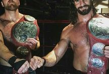 Ambrollins / Two of my favourite superstars, love them❤️