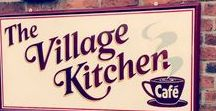 THE VILLAGE KITCHEN PRODUCTS... / We have a large selection of goodies to buy at The Village Kitchen from chutneys to tea.