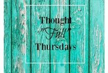 """Thought """"Full"""" Thursdays Link Party / This is the group board for the Thought """"Full"""" Thursdays Link Party.  I will post all of the pins from the Link Party and accept contributors who post in the party. All """"thought-provoking"""" content is welcome, but must be family-friendly.  If you are interested, send me an email at:  natalie@resiliencegroup.net."""