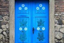 selvbetjening  inngang - Doors / *  VELKOMMEN  * / by dMf