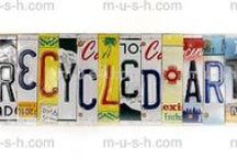 kunst - license plate art / (collected from State & Country vehicles) / by dMf