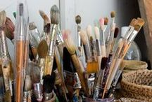 kunst -supplies- Brushes / Prime ART Tools / by dMf