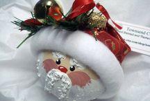 Christmas crafts / by Christy Austin