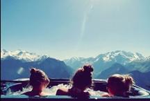 The joy of ski / by Purple Travel