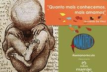 Semana Vínculo / Imagens de mães na história das artes visuais! Quanto mais conhecemos, mais amamos (da Vinci) #semanavinculo  apoio  Natura #mmbb