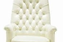 White Office Furniture / We are currently renovating our home office/spare bedroom and love furniture in white.