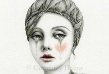 Courtney Brims, Kim Schuessler Art / Courtney Brims Art / by G G