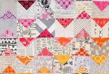 Patchwork / Blocos, tutoriais, inspirações Blocks, patterns / by Danni Ribeiro