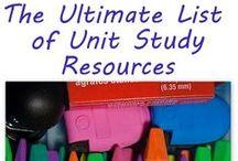 =unit studies / by Erika Schick