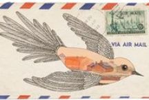 kunst - mail art / oh please, don't let it become a lost art ! ! ! / by dMf