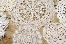HOME DECOR-#7-doilies / Using antimacassars and doilies in interior decoration / by dMf