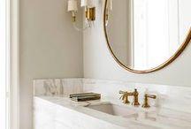 Powder Room / powder room ideas, guest bathroom