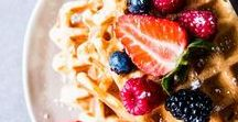 Brunch / Recipes and things to eat for breakfast, or lunch, or brunch!
