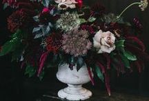 2018 Wedding Trends / A collective view of predicted 2018 wedding trends. Marble, copper, crystal glass, agate and pearl. Moody cottage garden florals, hanging arrangements, aisles decorated in potted Foxgloves. More outdoor weddings, interesting and quirky desert tables. I'm gonna say the V word: Vintage! :)