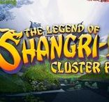 The Legend of Shangri-La: Cluster Pays (Video Slot from NetEnt)