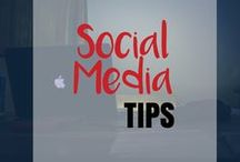 Social Media Tips / Learn how to use Social Media Marketing to grow your blog or business. Includes tips on using Facebook, Instagram, Twitter, and Pinterest to grow your traffic and make more money blogging!