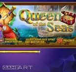 QUEEN OF THE SEAS (VIDEO SLOT FROM GAMEART)