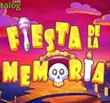 FIESTA DE LA MEMORIA (VIDEO SLOT FROM PLAYTECH)