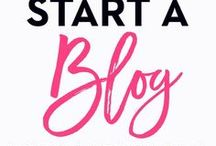 How to Start a Blog / Learn how to start a blog from scratch including tips on how to drive traffic to your blog, earn  money blogging, and blogging tips for beginners