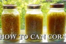 Canning, dehydrating, food preservation / by Beth
