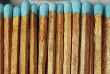 brown + blue / by Katherine Lightner