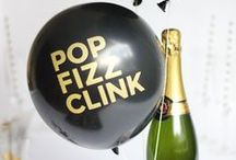 NYE & The New Year / Glitzy essentials that make for a killer New Years Eve party.