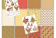 Christmas Printable Art Journal Pages/Clip Art