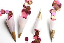 Confetti & Sprinkles / Fun ways to use confetti & sprinkles.