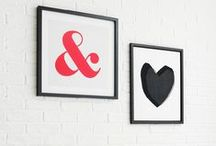 Show Us Your Walls -EAST END PRINTS / We want to see your walls! Tweet your pic to #showusyourwalls @EASTENDPRINTS