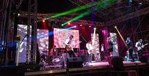 Fiestas en Torrejón de la Calzada mayo 2017 / Montaje de estructura y escenario en las fiestas locales de Torrejón de la Calzada