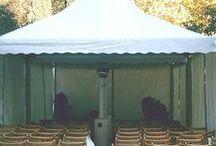 Equipos de climatización para eventos / Setas y cañones de calor para la climatización de tus eventos al aire libre