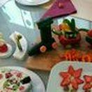 lustiges und gesundes Essen für Kinder / hier findet ihr Idee, wie gesundes Essen kreativ dargestellt werden kann. Damit Kindern das gesunde Essen schmeckt