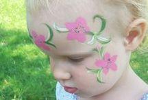 Kinder schminken / Kinder schminken für Feste, Geburtstage und andere Anlässe